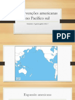 Intervenções Americanas No Pacífico Sul
