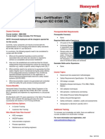SMS-4503-CT-En-DeS-238-R000-REV01-0-Safety Mgmt. Systems Certification - TÜV Functional Safety Program IEC 61508 SIL