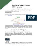 Como Medir Distancias Por Ultrasonido