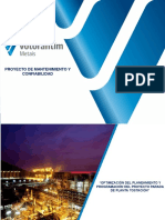 Optimización Plan y Prog Proyecto Parada de Planta