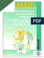 MMPI 1 Manual