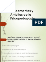 Presentacion Completa de Psicopedagogia