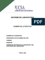 Pasos Para Elaborar Informe de Laboratorio