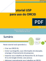 Tutorial ORCID SIBiUSP Rev Final Dez 2016