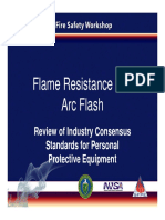 Presentation - Flame Resistance and Arc Flash