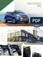 Catalogo Ford Ecosport 2018