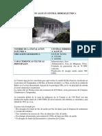 Proyecto Agoyan Central Hidroelectrica