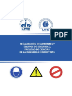 Señalización de Ambientes y Equipos de Seguridad