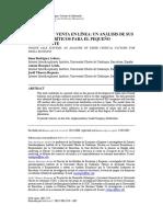 Sistemas de Venta en Línea Un Análisis de Sus Factores Críticos Para El Pequeño Comerciante