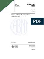 ABNT NBR 10898_2013 - Sistema de Iluminação de Emergência