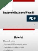 Ensayo de Flexión en Woodfill