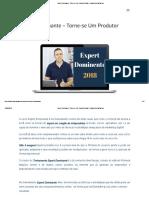 Expert Dominante - Torne-se Um Produtor Digital — Marketing Digital Box