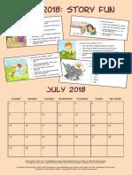 July 2018 Story Fun