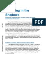 Spending in the Shadows 2019 Enacted Addendum