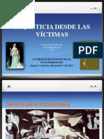 Dr. Fernando Diaz. Presentación Congreso Iberoamericano de Psicocriminología