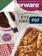 Brochure Tupperware mi-mai 2018