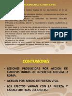 Traumatologia Forense 2da Clase