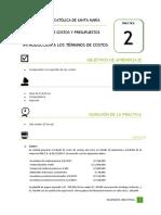 1. Práctica 2-Intro Términos Costo