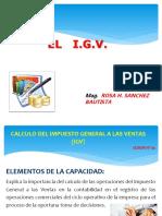 Calculo Del Igc e igv