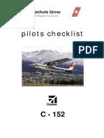 Checklist Cessna152