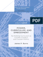 [James P. Burns] Power, Curriculum, And Embodiment Re-thinking Curriculum as Counter-Conduct and Counter-Politics