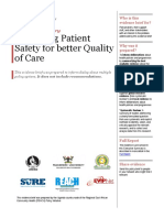 Patient Safety Executive Summary 10052014