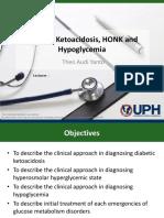 Presentasi DKA Dan Hypoglycemia