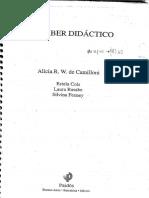 74381464 Camilloni El Saber Didactico