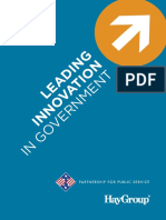 Leading Innovation in Government - A Study With the Partnership for Public Service and Hay Group