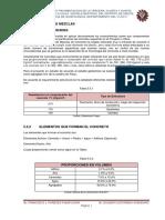 5.5. Diseño de Mezclas Proyecto