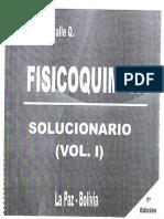 Fisicoquimica Vol.I