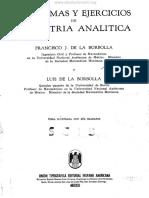 Problemas Y Ejercicios de Geometría Analítica - Francisco J. de La Borbolla