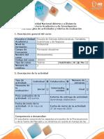 Guía de Actividades y Rúbrica de Evaluación -miroeconomia fase 4