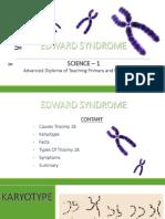 Edward Syndrome Ppt