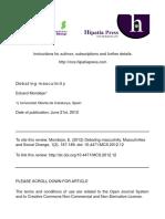 Mondejar - Debating Masculinity (Review)