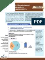 Informe Tecnico Empleo Mayo 2018 Lima Metropolitana