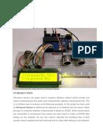 Sensors Distance Measurement Using Arduino