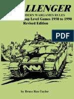241857498 Challenger Modern Wargame Rules 1950 1990