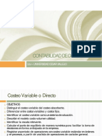 Microsoft PowerPoint - Contabilidad de Costos - XI_Costeo Variable