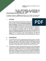 Apelación a Resolución SBS - MODELO