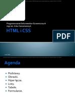 04. HTML i Css. Część 1.