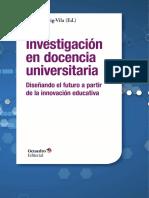 Investigación en docencia universitaria