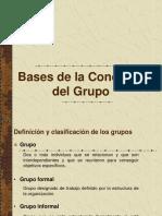 Bases de La Conducta Del Grupo
