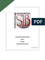 SILABO BIOLOGIA MOLECULAR 2018-I.pdf