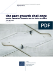 The Post-Growth Challenge Secular Stagnation, Inequality and the Limits to Growth (Jackson, T 2018)