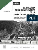 Colmena en Explotacion Agraria