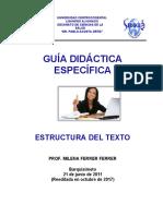 Estructura Del Texto 2017