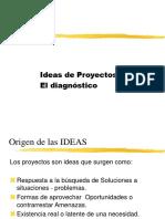 2.- Las Ideas de Proyectos