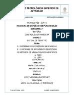 Sistema de Registro de Mercancias