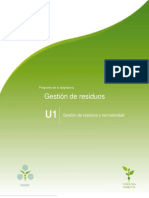 Unidad 1. Gestion de Residuos y Normatividad